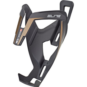 Elite Vico Bottle Holder Carbon matte black/bronze graphic